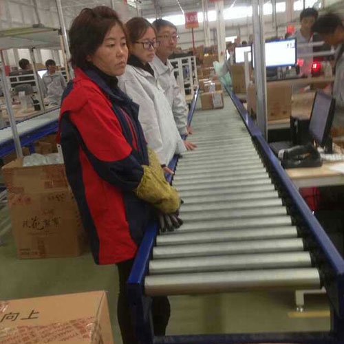 電商行業出貨打包輸送系統